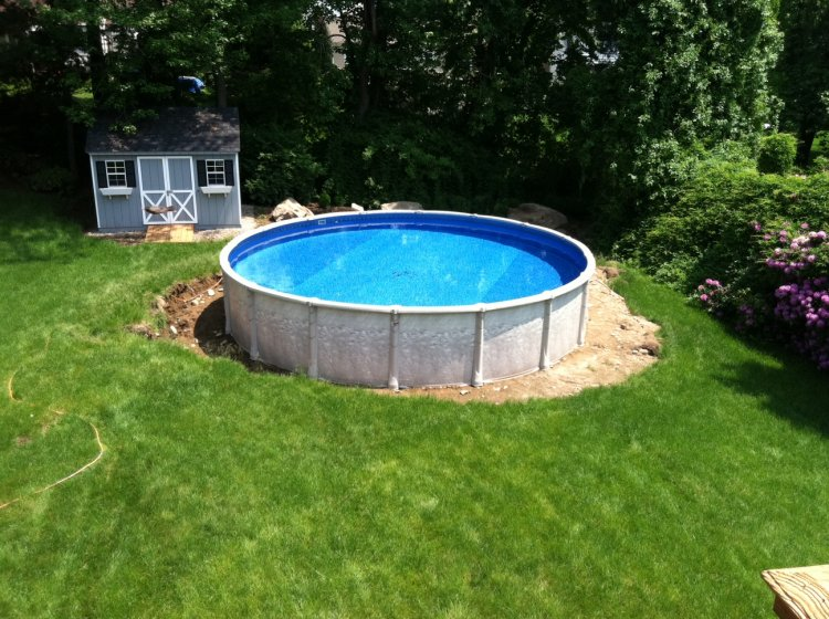 Above Ground Pool Green Water