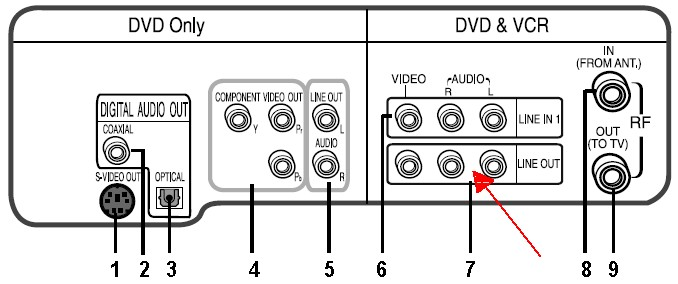 TV + DVD Connection