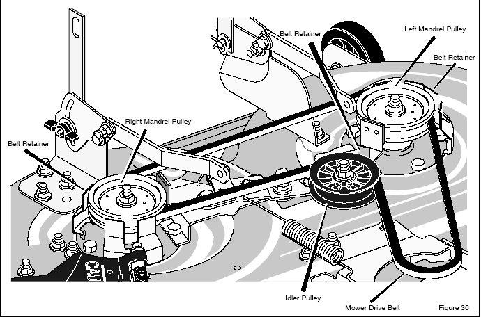 Murray belt replacement diagragm