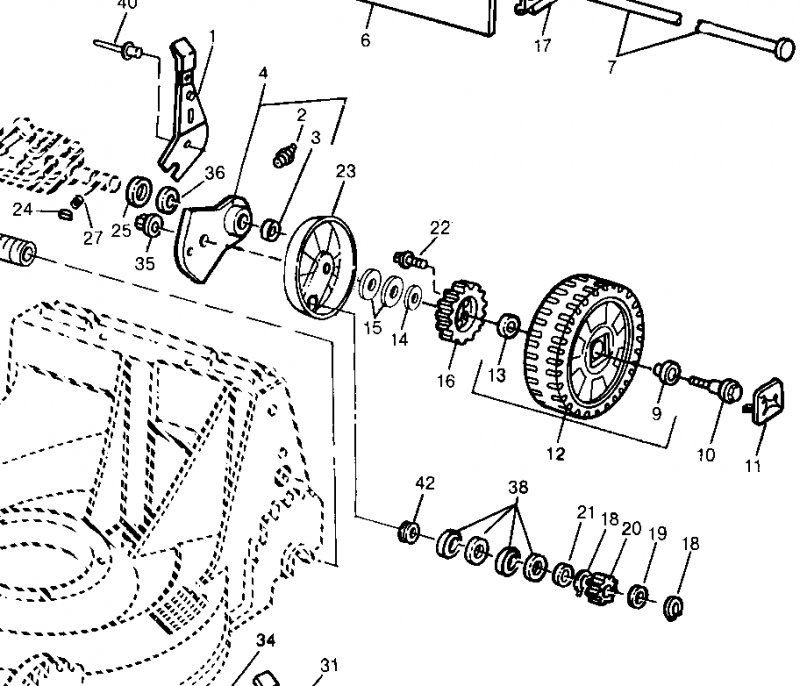 John Deere 14sb Lawn Mower Parts Diagrams