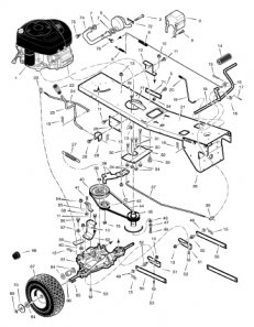 Wiring Diagram For Briggs And Stratton 10 Hp additionally Scotts Wiring Diagram moreover Toro Drive Belt besides Wiring Diagram For Murray Lawn Tractor additionally 5 Post Ignition Switch Wiring Diagram. on murray 12 5 riding mower wiring diagram
