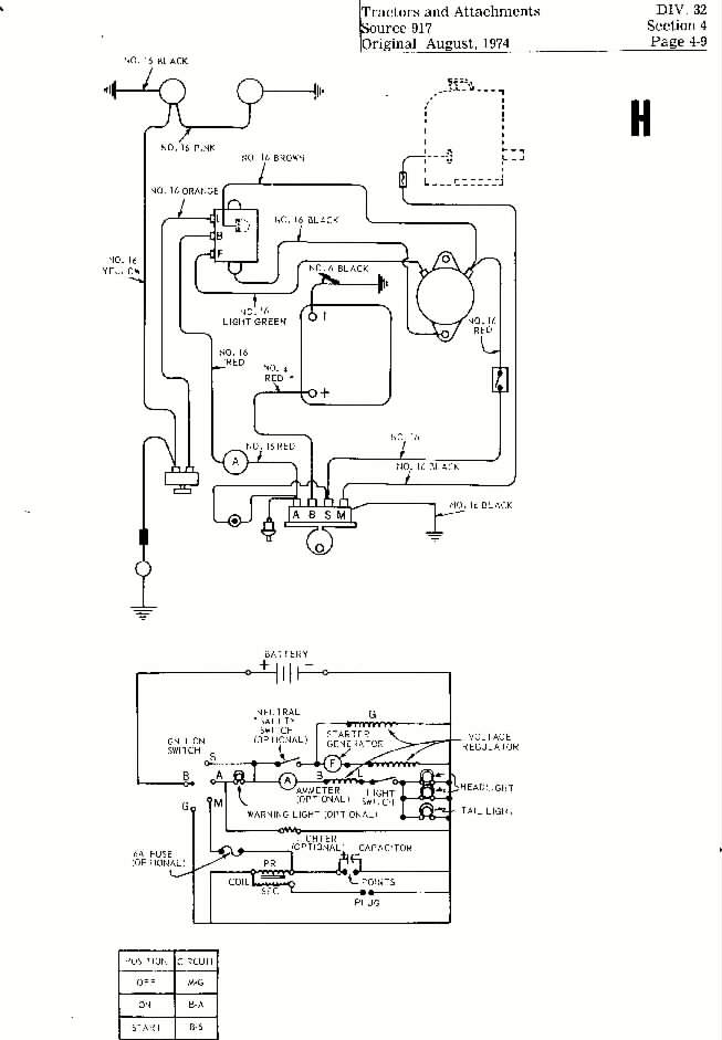 Mower Electrical Drawing