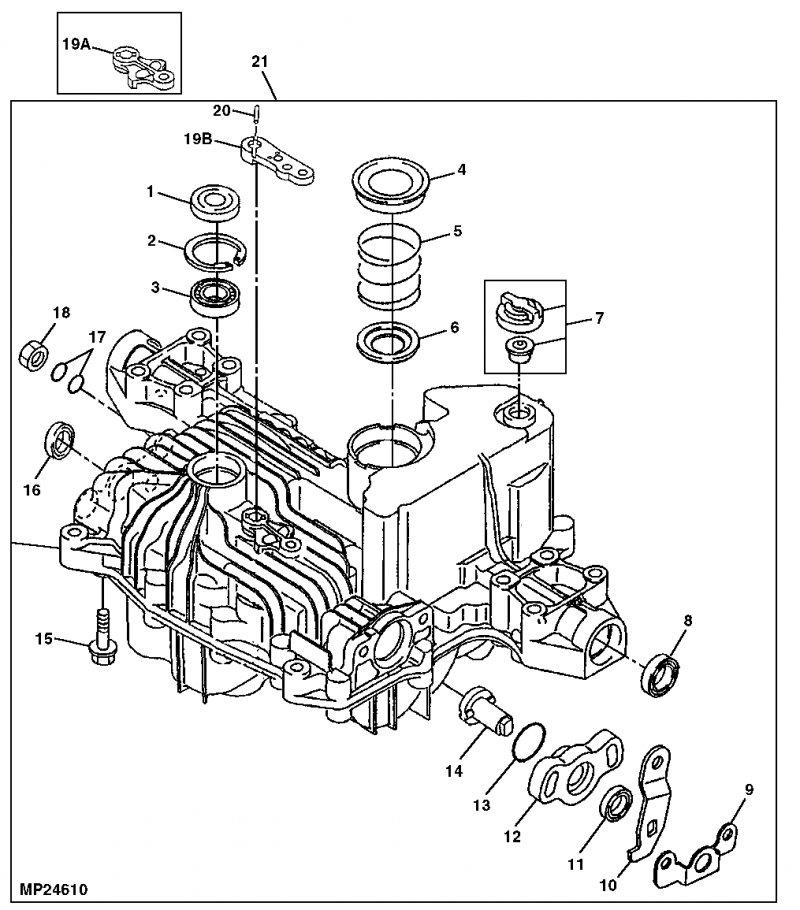Where To Find Breakdown Skematic Inside Transaxle Case