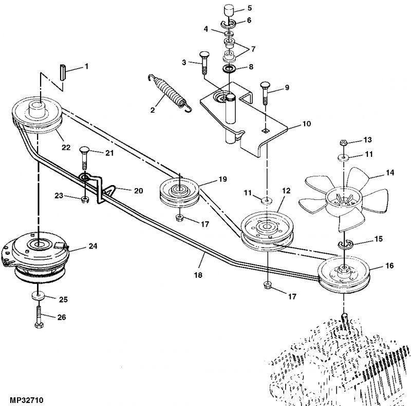 John Deere Stx38 Drive Belt Diagram: John Deere Stx38 Black Deck Parts At Ariaseda.org