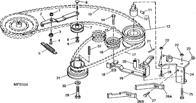 John Deere Gx Riding Mowers Service Repair Manual additionally Deeresx Switchlocations in addition Jubdy additionally Wlug L further Deck Belt. on john deere sx95 diagram