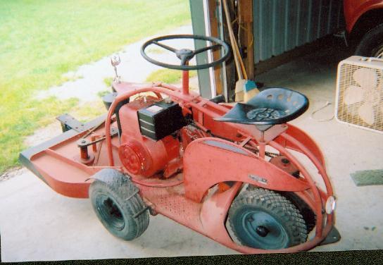 Antique Lawn Mower