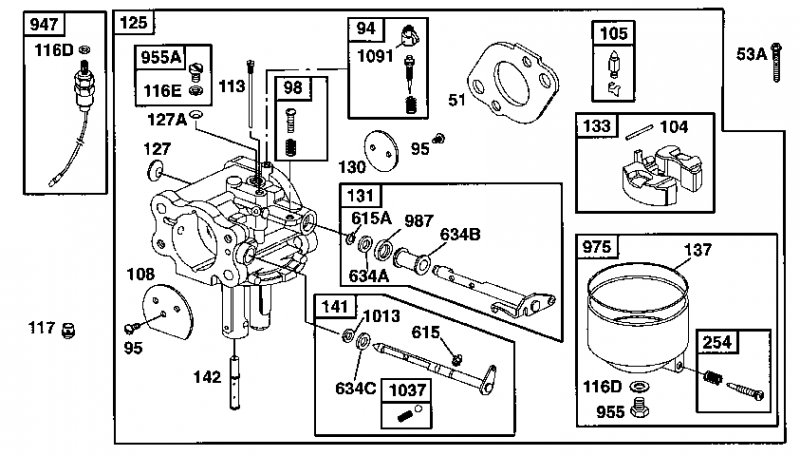 briggs stratton carburetor diagram 091202  briggs  get free image about wiring diagram 4 HP Briggs and Stratton Carburetor Diagram Briggs and Stratton Parts Diagram