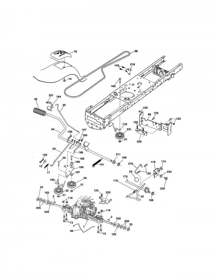Craftsman Model 917 Parts : Craftsman model parts diagram imageresizertool